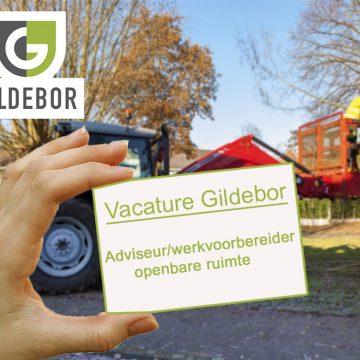 Vacature Gildebor: adviseur/werkvoorbereider gezocht voor het cluster Ondersteuning