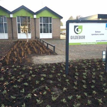 Nieuwe groene entree voor Gildebor in Hengelo aan Asveldweg