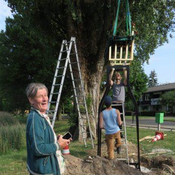 Gildebor heeft plaatsing kunstwerk 'Trots' in Tuindorp voorbereid