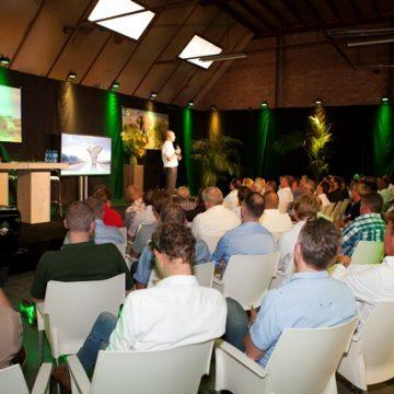 Netwerken op de 'Bentelose savanne' tijdens Gildebor event