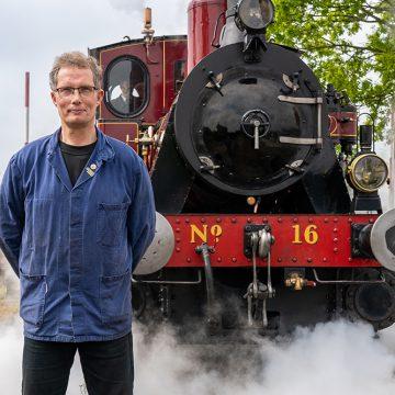 Thomas van Leeuwen: spoorman