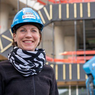 Yvon Kroeze: bouw-vakvrouw