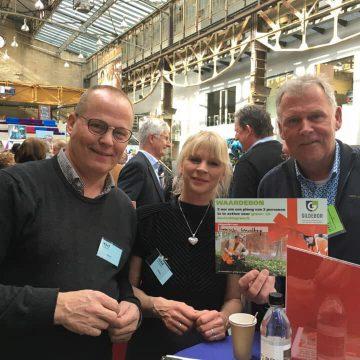 Gildebor maakt mooie 'matches' op Slingerbeurs