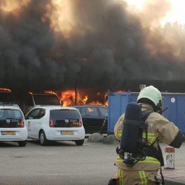 Flinke materiële schade na brand op werf Gildebor